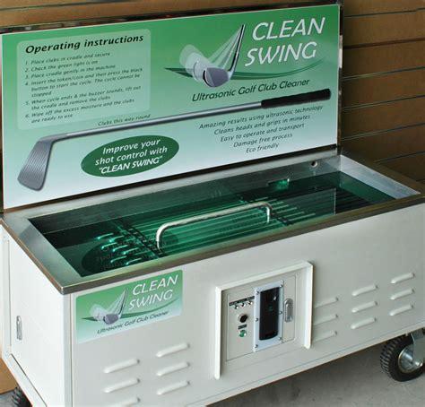 clean swing ultrasonic golf club cleaner clean swing by kleentek