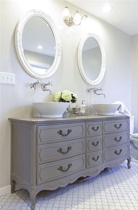 old dressers made into sinks how to turn a vintage french dresser into a double