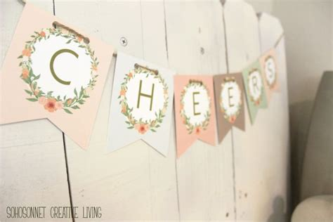 printable abc banner anthropologie challenge day 6 alphabet free banner