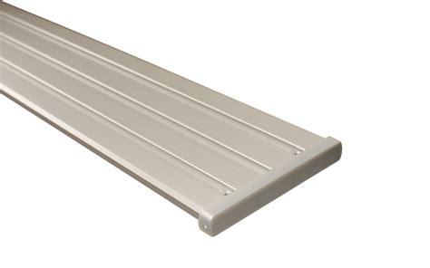 gardinenschiene alu 3 laufig gardinenschiene silber aus aluminium 2 l 228 ufig