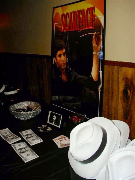 scarface party theme images  pinterest