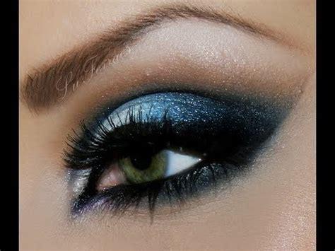 maquiagem para noite azul prata por lu ferraes