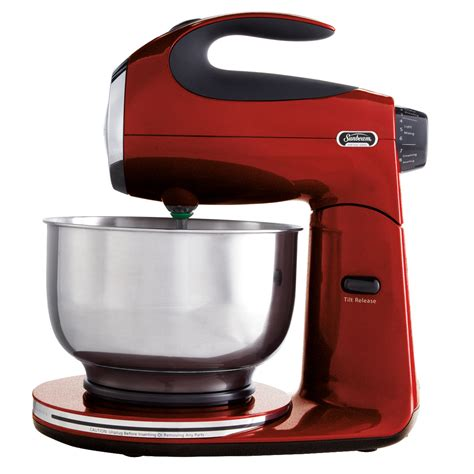 Mixer Crimson sunbeam 174 heritage series 174 stand mixer metallic fpsbsm21mr sunbeam
