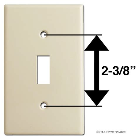 light switch cover dimensions light switch plate outlet cover decora rocker size chart