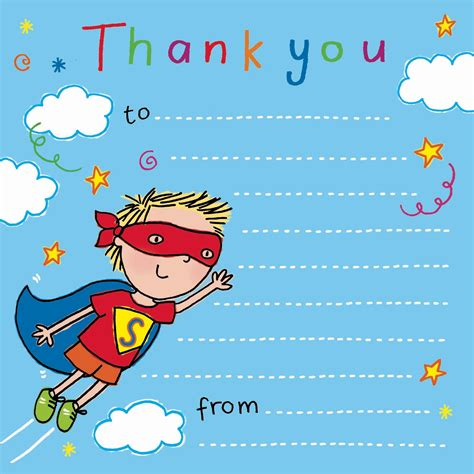 Thank You Note Uk Thank You Notes For Thank You Cards For Children Thank You Notes Birthday