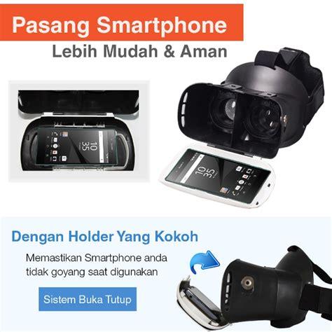 Vr Box 3d Reality Glasses Generasi 2 Untuk Smartphone jual vr box 2 t3 m01 w magnetic button cardboard