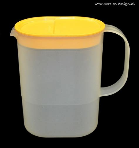 Tupperware Crescendo Jug 1 L tupperware pitcher jug 1l vintage tupperware retro