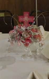baptism centerpiece christening pinterest