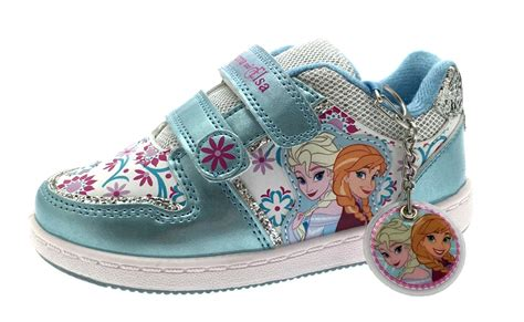 frozen shoes for frozen elsa olaf glitter trainers character sports