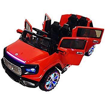 amazon.com: two seater 4 door premium ride on electric toy