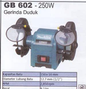 Bor Duduk Merk Makita makita gb 602 250w gerinda duduk products of mesin