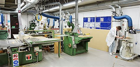 production woodworker wood workshop facilities of