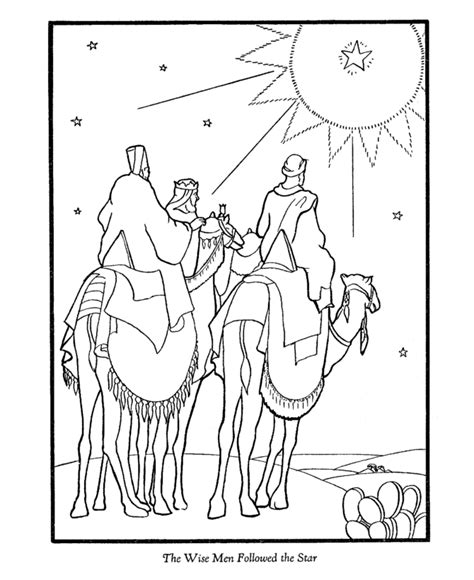 nativity coloring page az coloring pages