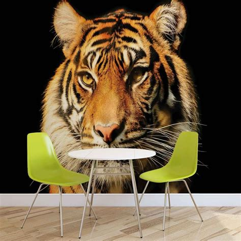 tiger wall murals tiger wall paper mural buy at europosters
