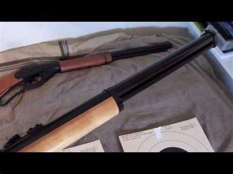 daisy red ryder vs crosman marlin cowboy bb rifle compa