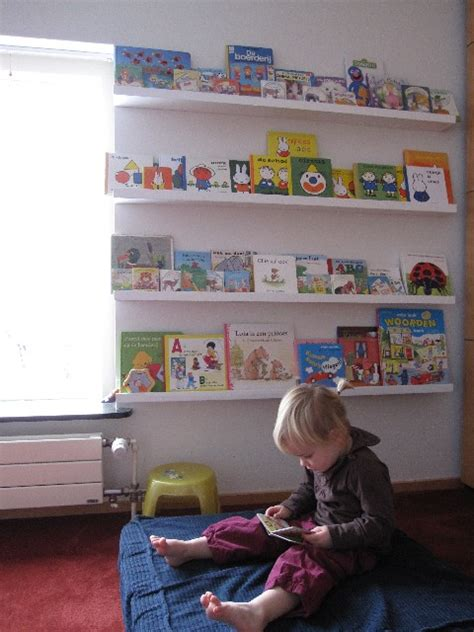 Ribba Ledge by 39 Cool Ideas To Organize A Perfect Kids Reading Nook