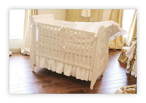 Bedskirts For Cribs by B 233 B 233 Papillon European Styled Baby Linens Bedding Crib