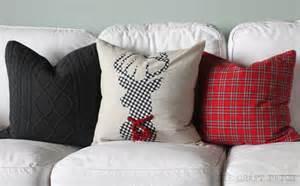the craft patch diy christmas pillows