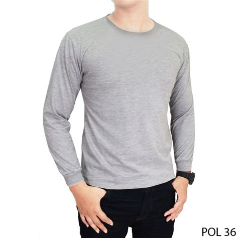 Kaos Polos O Neck Combed 20s Unisex Size L Xl basic tshirt unisex kaos polos o neck lengan panjang 100 cotton size mlxl new update best