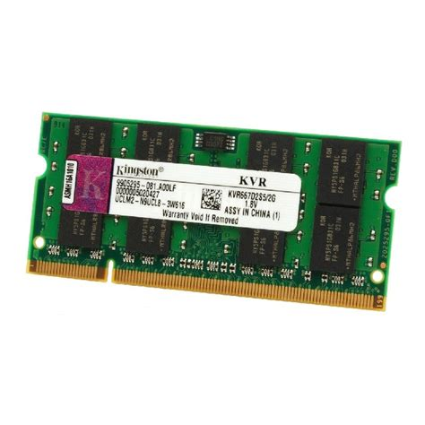 Ram Pc Kingston 2go ram laptop sodimm kingston kvr667d2s5 2g ddr2 pc2 5300s 667mhz cl5 ebay