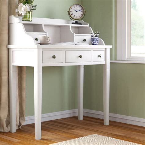 beachcrest home sadie reversible solid wood secretary desk