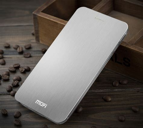 Hardcase Mofi Iphone 6 Plus Hmc1 hitech store iphone 6 plus flip aluminium silver