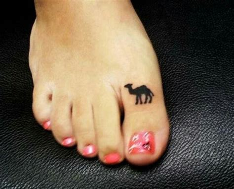 tattoo toe pain omg celebrities camel toe game taken on another level