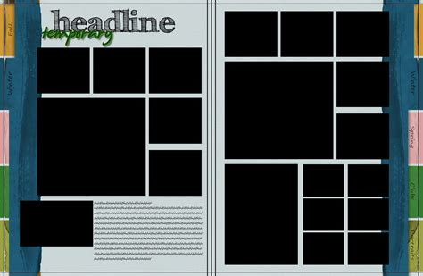 template page yearbook layout template www imgkid the image kid