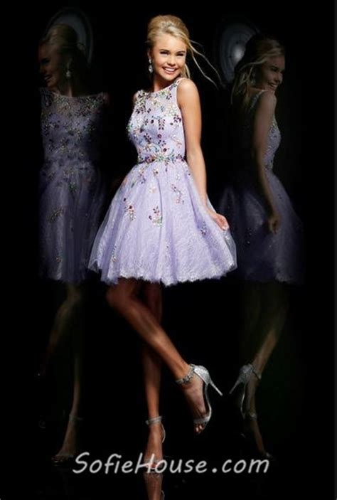 boat neck open back prom dress a line boat neck short chagne tulle lace crystal beaded
