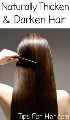 recipes for hair thickeners 1000 ideas about thicken hair on pinterest thicken hair