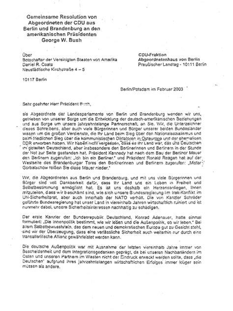 Offizieller Brief Frankreich Glasnost Berlin Quellen Zum Zeigeschehen Jahr 2003