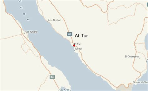 map of tur at tur location guide
