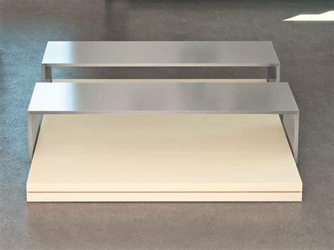 rectangular mdf coffee table slide by ronda design design