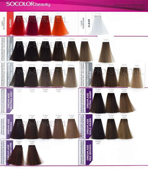matrix socolor age color chart matrix