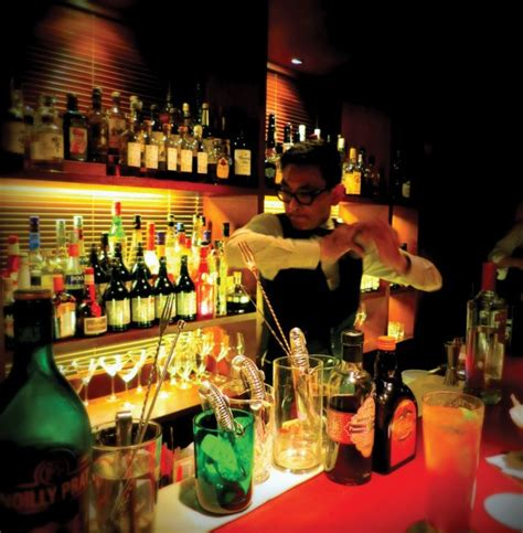 Top Ten Drinks At A Bar by Top 10 Hong Kong Cocktail Bars