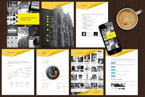 document design and layout strategy document design layout on behance