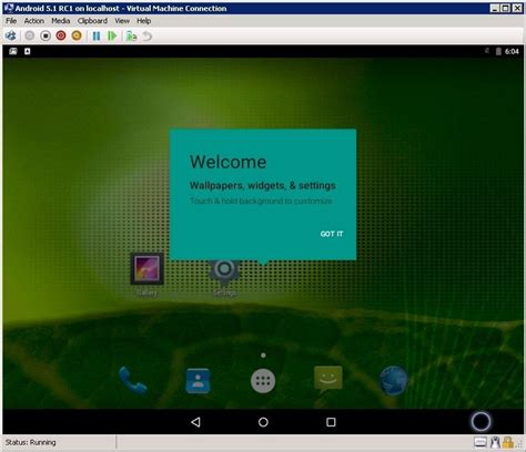 android vm configuring an android 5 1 rc1 vm enhansoft
