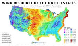 wind energy 120 meter wind resource us map tindall