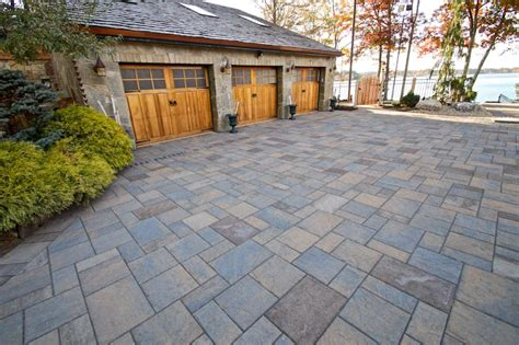 driveways by triad pavers exposed aggregate concrete triad associates