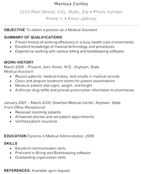 Exle Of Functional Resume by Resume For Workers Resumer Workers Functional