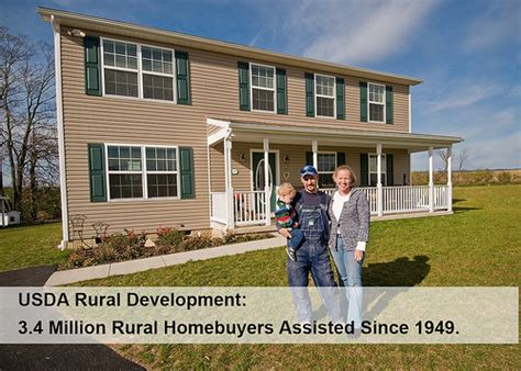 usda housing with usda housing programs 3 4 million rural homebuyers own their future usda