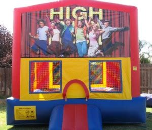 high school musical house high school musical bounce house amazing bounce