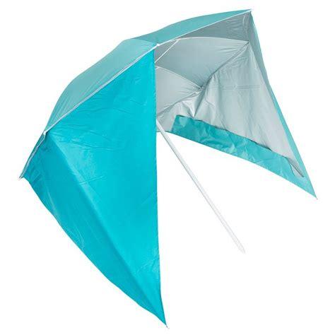 decathlon tende da spiaggia sombrilla parasol y paravientos azul tribord olaian