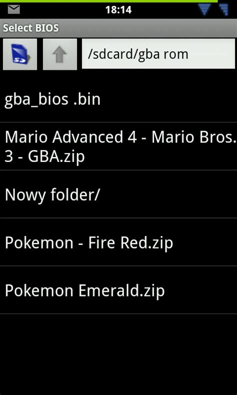 gba bios android gierki pokemony z gba na android