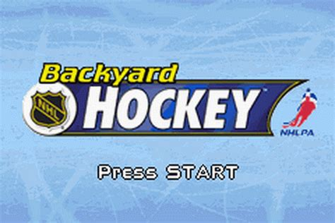 backyard hockey online play backyard hockey nintendo game boy advance online