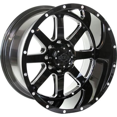 big alloy wheels gear alloy big block 22x12 44 custom rims