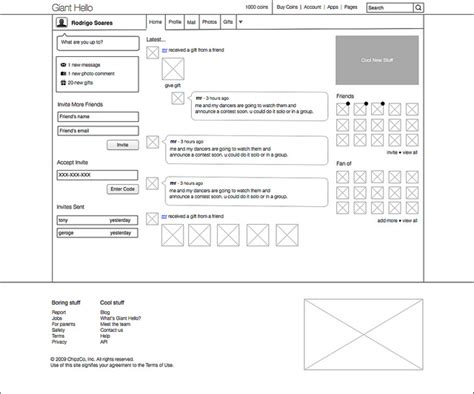 magazine layout wireframe 20 exles of web and mobile wireframe sketches