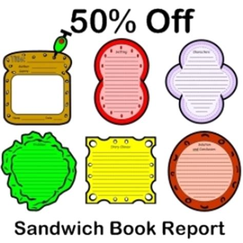 sandwich book report template sandwich book report 50 documents and forms other
