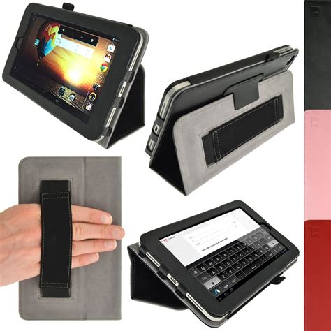 Casing Hp Android pu leather folio flip skin cover holder for hp slate