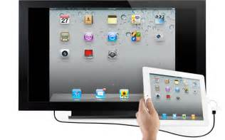 Make Your Own Projector Screen How To Mirror Your New Ipad Ipad 2 Screen On Hdtv Or
